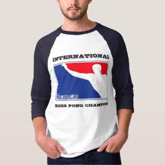 Internationale Hülse Bier Pong Meisters 3/4 T-Shirt