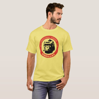 Internationale Ordnung für Gorillas T-Shirt