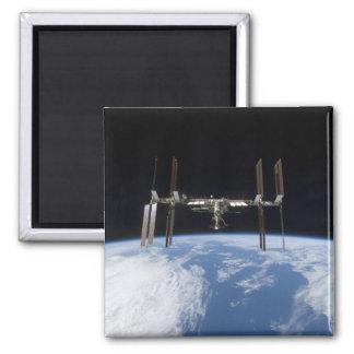 Internationale Weltraumstation 11 Quadratischer Magnet