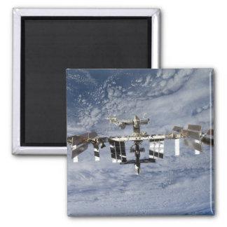 Internationale Weltraumstation 28 Quadratischer Magnet