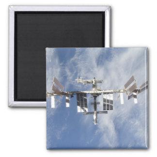 Internationale Weltraumstation 4 Quadratischer Magnet