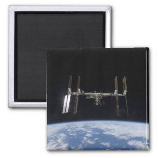 Internationale Weltraumstation 9 Quadratischer Magnet