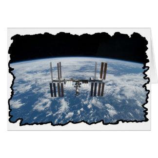Internationale Weltraumstation -- Gesehen von Karte