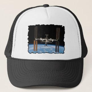 Internationale Weltraumstation -- Gesehen von Truckerkappe