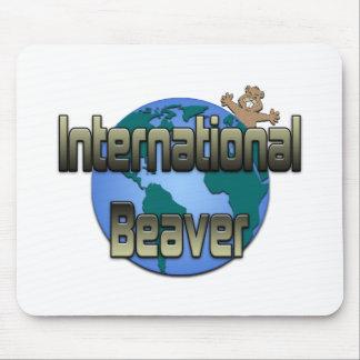 Internationaler Biber Mousepad