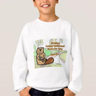 Internationaler Biber-Tag am 7. April Sweatshirt