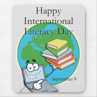 Internationaler Bildungs-Tag am 8. September Mousepad