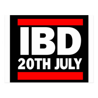Internationaler Boombox Tag - 20. Juli Postkarte