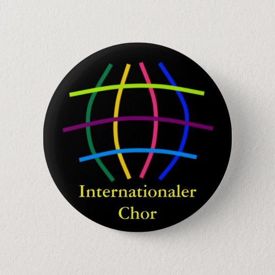 Internationaler Chor Runder Button 5,1 Cm