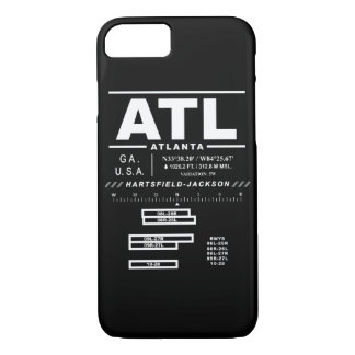 Internationaler Flughafen ATL Atlantas iPhone Fall iPhone 8/7 Hülle
