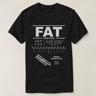 Internationaler Flughafen Fresnos Yosemite FAT-T - T-Shirt