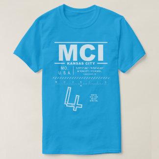 Internationaler Flughafen Kansas City MCI-T - T-Shirt