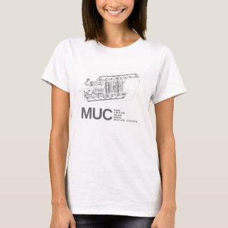 Internationaler Flughafen Münchens Franz Josef T-Shirt