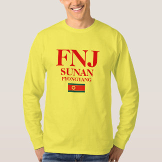 Internationaler Flughafen-Shirt Pjöngjangs T-Shirt