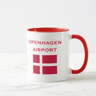 Internationaler Flughafen-Tasse Kopenhagens CPH Tasse
