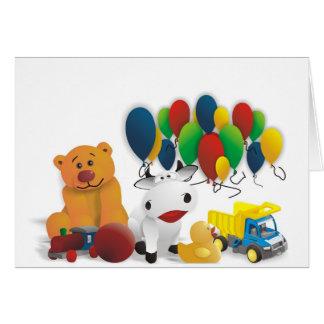 Internationaler Kindertag Grußkarte