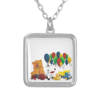 Internationaler Kindertag Personalisierte Halskette