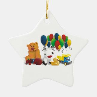 Internationaler Kindertag Keramik Stern-Ornament