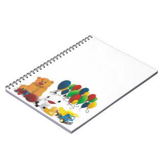 Internationaler Kindertag Spiral Notizbuch
