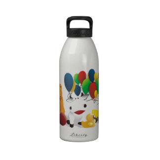 Internationaler Kindertag Wasserflaschen