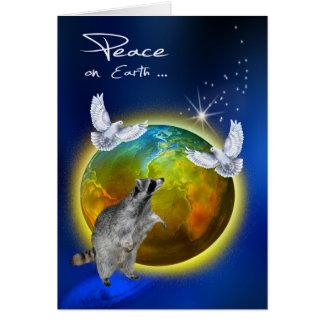 Internationaler Tag des Friedens, am 21. September Karte
