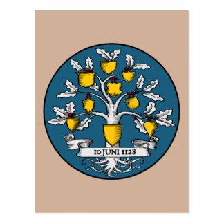 Internationaler Wappenkunde-Tag Postkarte