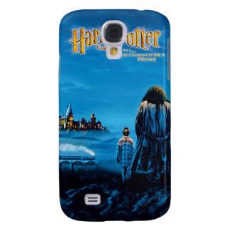 Internationales Films Plakat Harrys und Hagrid Galaxy S4 Hülle