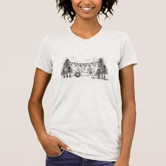 Internationales Glamping Wochenende T-Shirt
