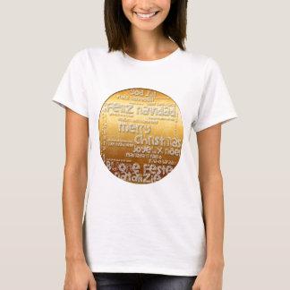 Internationales T-Stück WeihnachtenNavidad T-Shirt