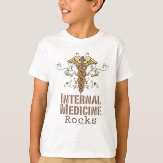Interne Medizin schaukelt Caduceus-KinderT - Shirt