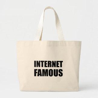 Internet berühmt jumbo stoffbeutel