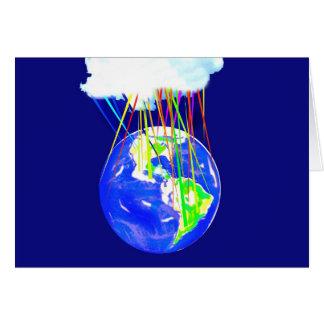 Internet-Wolke Karte