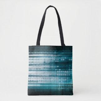 Internetanschluss und bewegliches Datenpaket Tasche