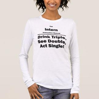 Internierter Langarm T-Shirt