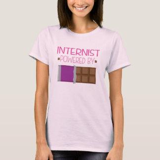 Internist-Schokoladen-Geschenk für sie T-Shirt