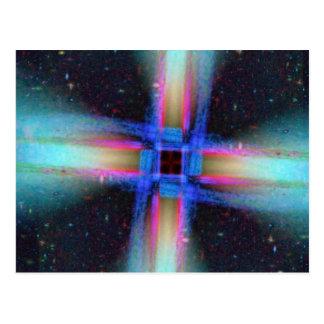 Interstellare Jets Postkarte