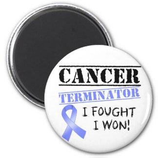 Intestinaler Krebs-Abschlussprogramm Runder Magnet 5,7 Cm