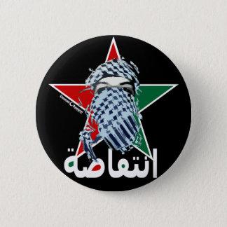 Intifada-Stern Runder Button 5,1 Cm