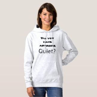 Introvert spricht: Ruhe? Hoodie