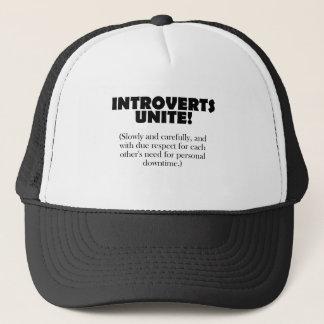 Introverts vereinigen - Licht BG Truckerkappe