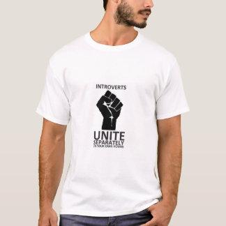 Introverts vereinigen! separat in unseren eigenen T-Shirt