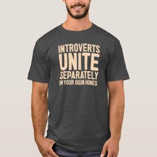 INTROVERTS VEREINIGEN separat. Und in Ihren T-Shirt