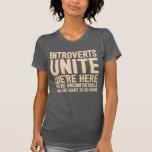 INTROVERTS VEREINIGEN uns sind hier wir sind Hemd