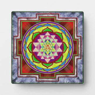 Intuition Sri Yantra - Artwork I Fotoplatte