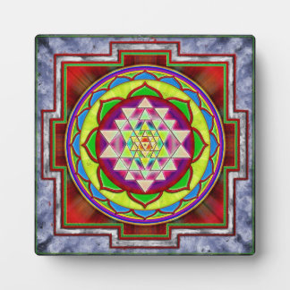 Intuition Sri Yantra - Artwork I Platte