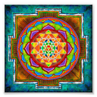 Intuition Sri Yantra - Artwork II Fotos