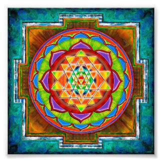 Intuition Sri Yantra - Artwork II Fotos