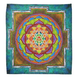 Intuition Sri Yantra - Artwork II Kopftücher