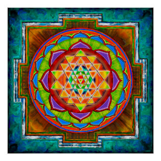 Intuition Sri Yantra - Artwork II Poster