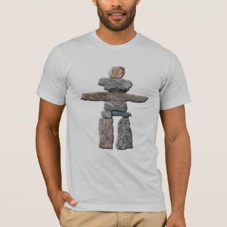 Inukshuk Haida entsteint gebürtiger Amerikaner-T - T-Shirt